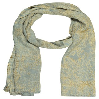 Digital Printed Stole- Sky blue
